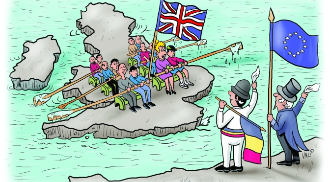 Marea Britanie a parasit Uniunea Europeană. Implicatiile acestui eveniment pentru cetatenii romani